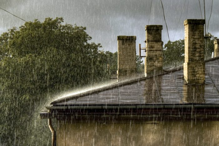 old roof in the rain Evergreen Construction Solutions 8425 Old Statesville Rd #8, Charlotte, NC 28269 (704) 609-3561