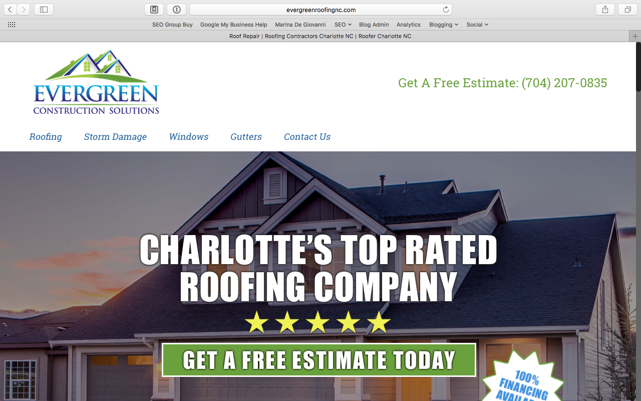 Attractive Roof Repair | Roofing Contractors Charlotte NC | Roofer Charlotte NC