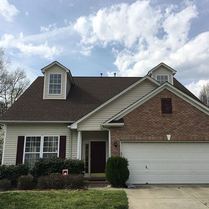 small house blue sky Evergreen Construction Solutions 8425 Old Statesville Rd #8, Charlotte, NC 28269 (704) 609-3561