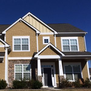 beige house Evergreen Construction Solutions 8425 Old Statesville Rd #8, Charlotte, NC 28269 (704) 609-3561